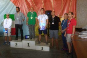 Il podio del Trofeo Colombani – Carmassi